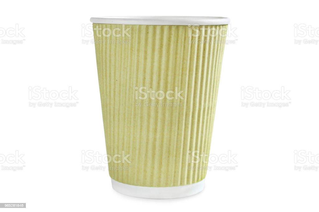 Coffee lime cup zbiór zdjęć royalty-free