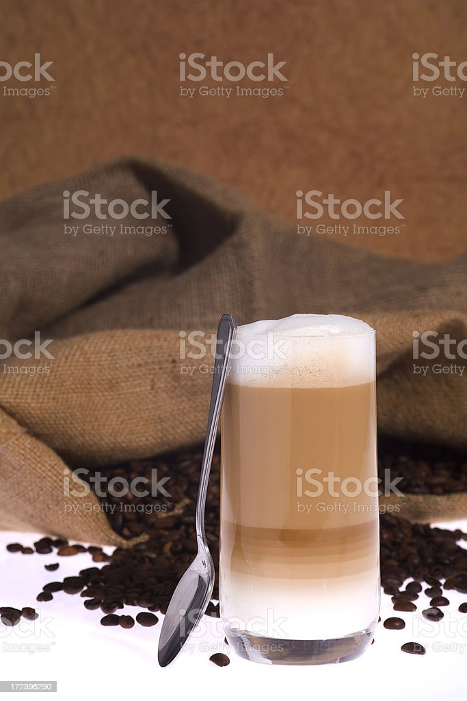 Coffee Longdrink1 stock photo