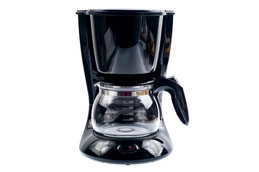 Coffee machine isolated