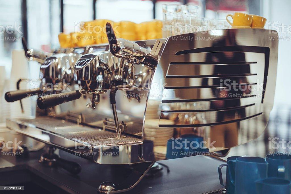 Cafeteira máquinas de - foto de acervo