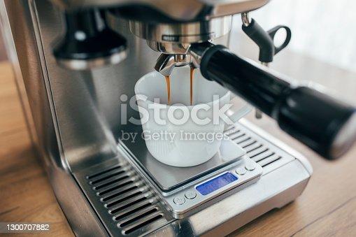 istock Coffee Making (espresso) 1300707882