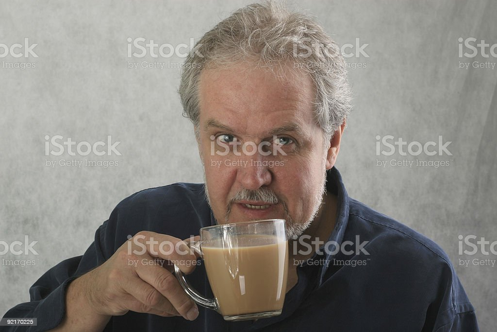 Coffee Man royalty-free stock photo