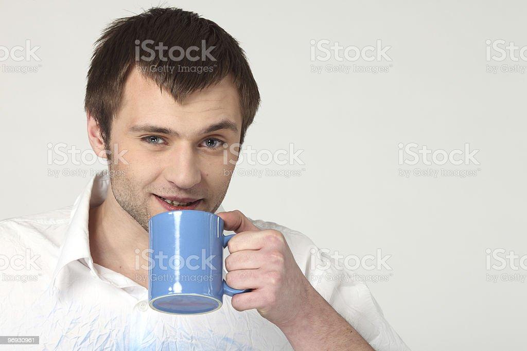 coffee man royalty-free stock photo