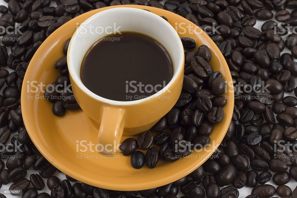 coffee mania royalty-free stock photo