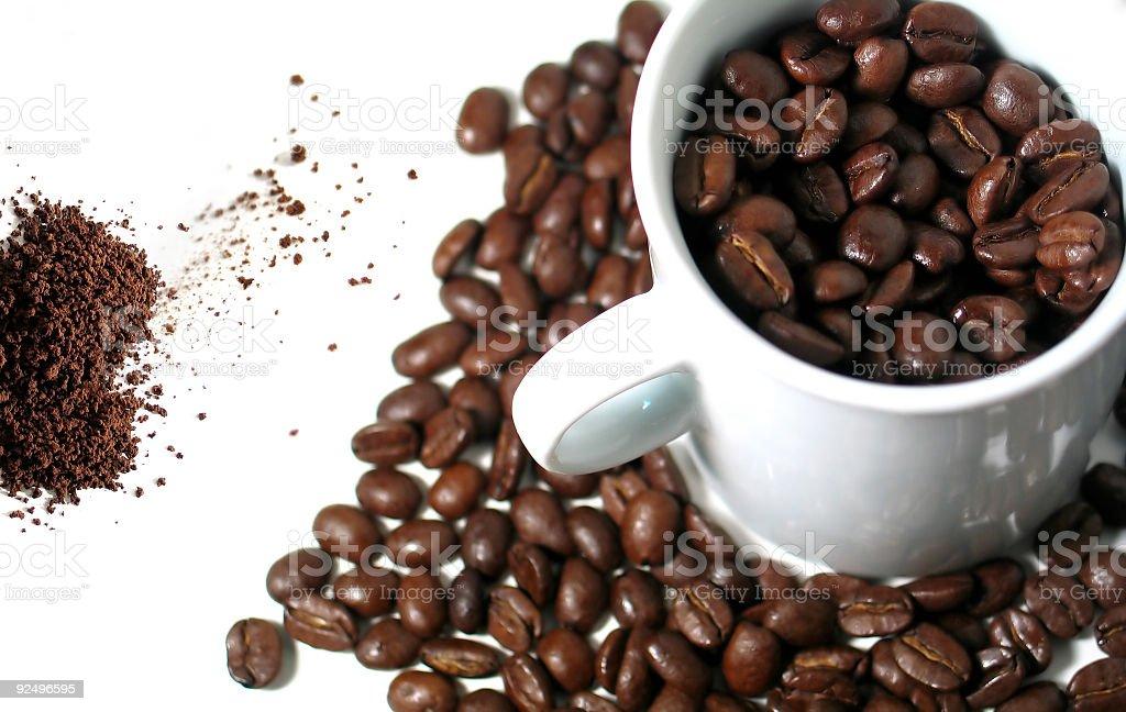 Coffee mix royalty-free stock photo