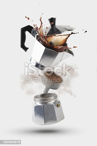 Italian Coffee Moka Explosion