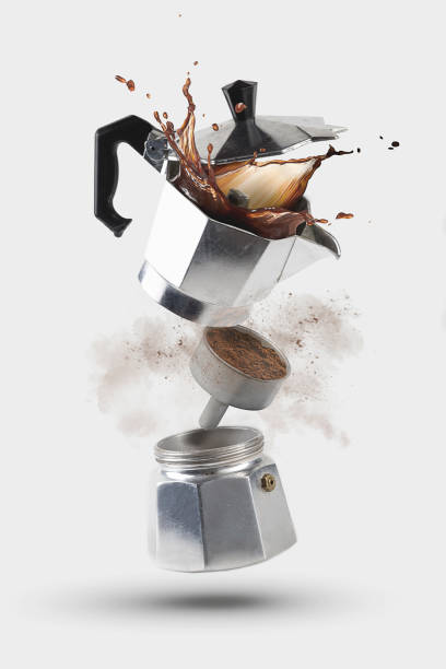Coffee Moka Explosion - foto stock