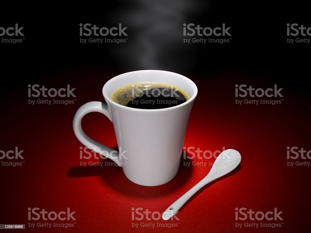 Coffee moment royalty-free stock photo