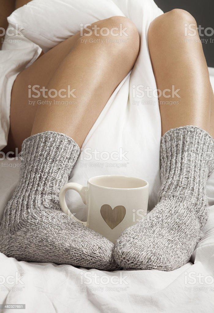 Kaffee am Morgen Lizenzfreies stock-foto