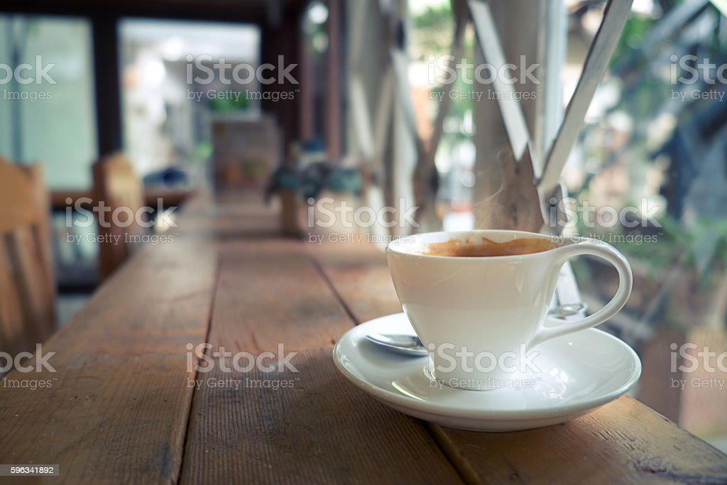 Coffee morning royalty-free stock photo
