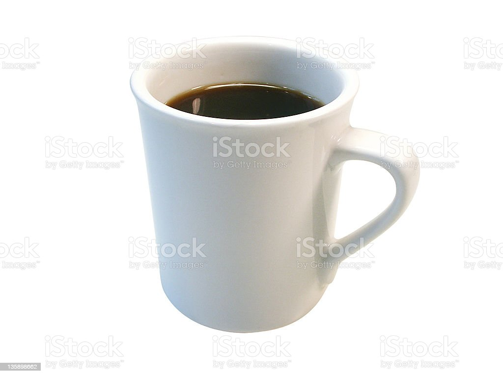 Coffee Mug 1 (isolated) royalty-free stock photo