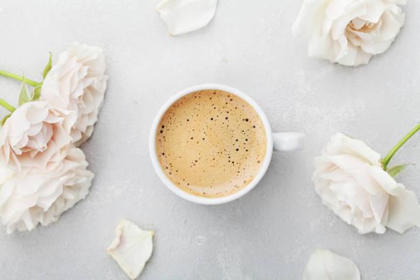 Coffee mug and vintage rose flowers flat lay style picture id642727192?b=1&k=6&m=642727192&s=612x612&w=0&h=v psrh4wyik dfeyl3wzb9amngey89uqae ssufnceq=
