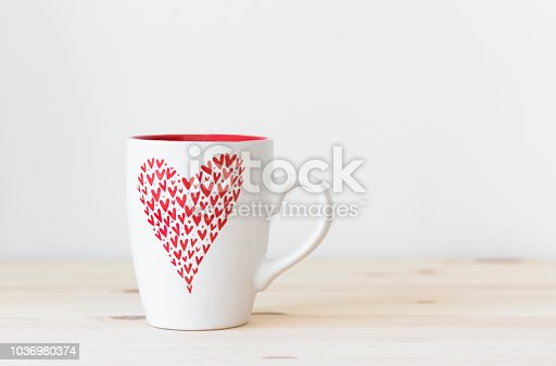 Coffee Mug Mockup on wood