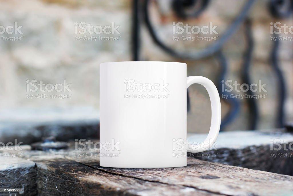 Coffee Mug Mockup stock photo