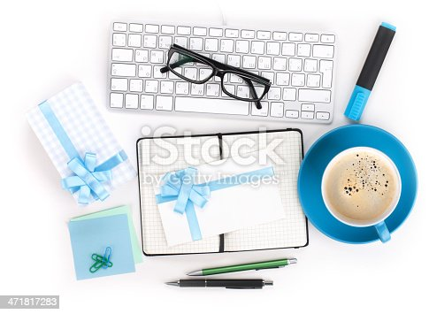 istock Coffee, office supplies and gifts 471817283