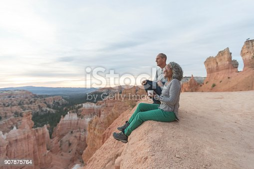 istock Coffee on a Cliff 907875764