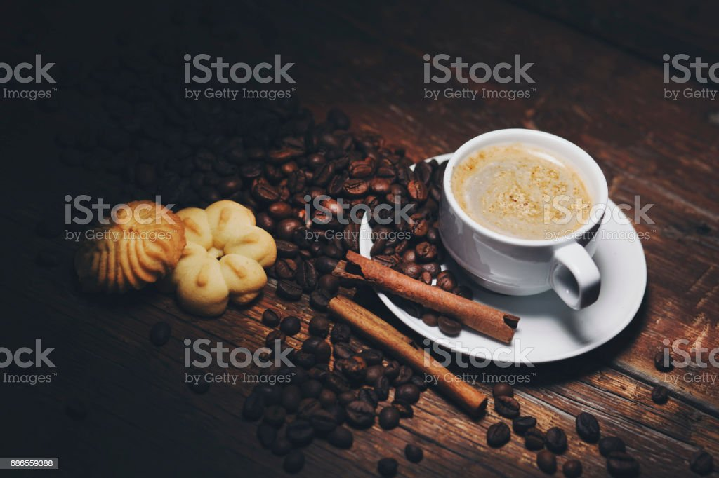 coffee on table royalty-free stock photo