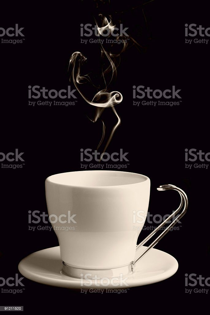Coffee or Tea Cup royalty-free stock photo