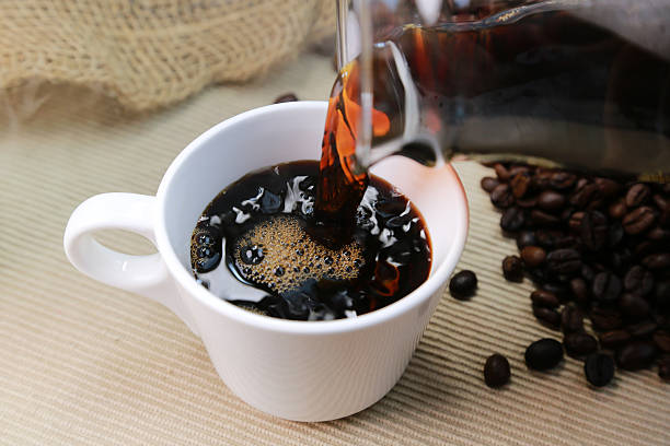 coffee drink black coffee stock pictures, royalty-free photos & images