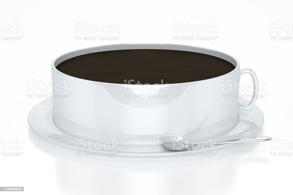 XXL Coffee royalty-free stock photo