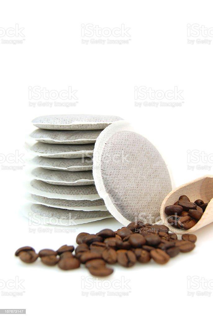 Coffee pod stock photo