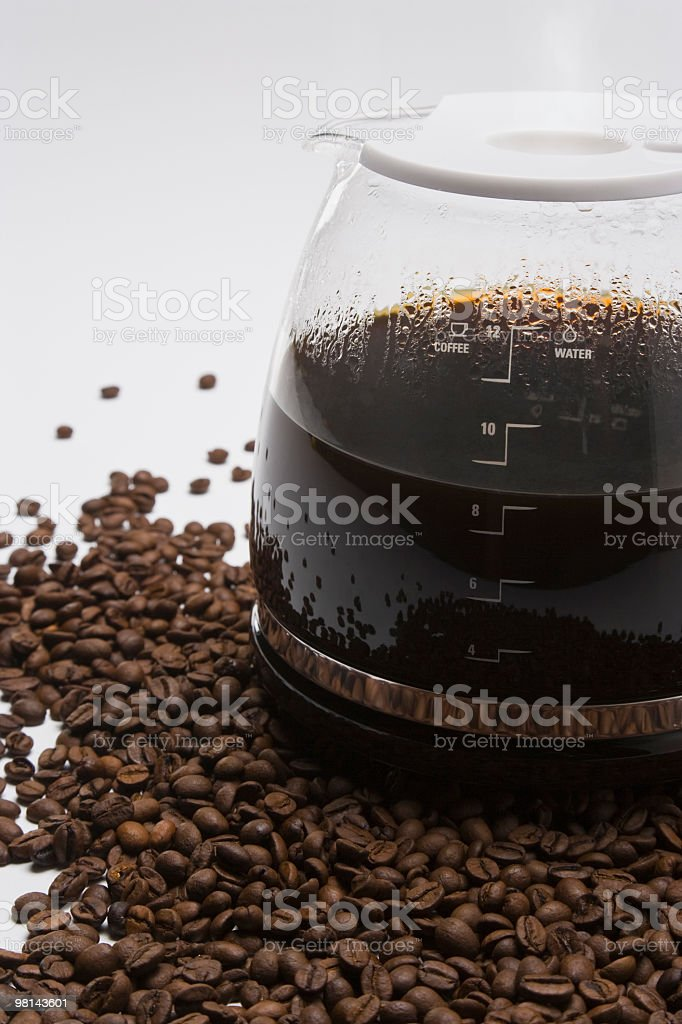 Coffee Pot royalty-free stock photo