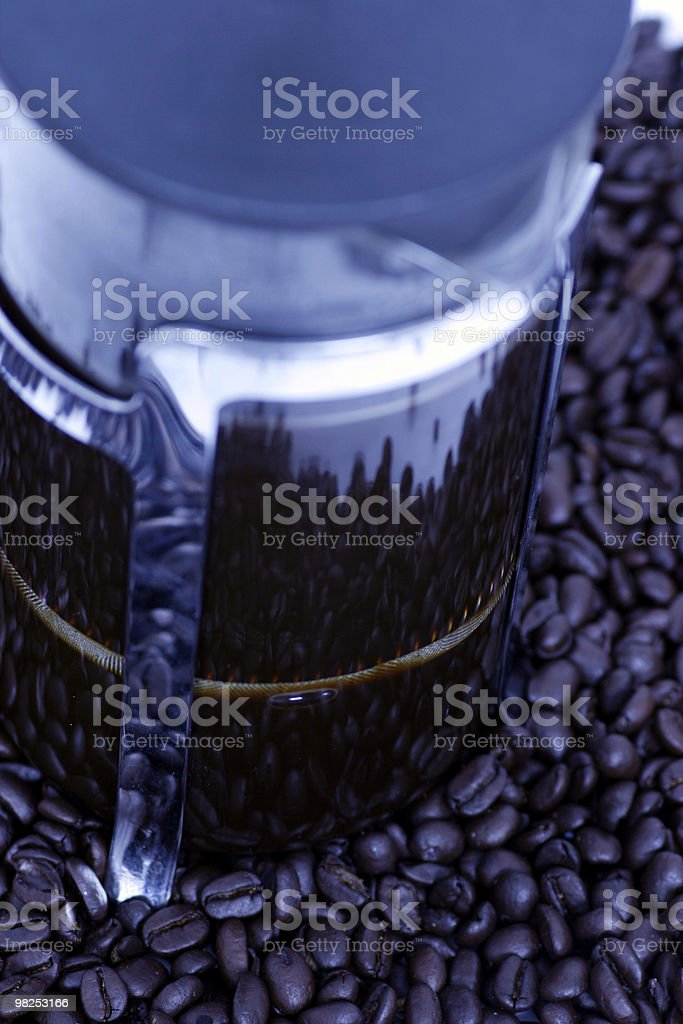 Coffee Pot royalty-free stock photo