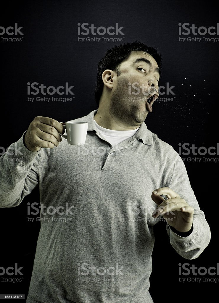 Coffee Punch royalty-free stock photo