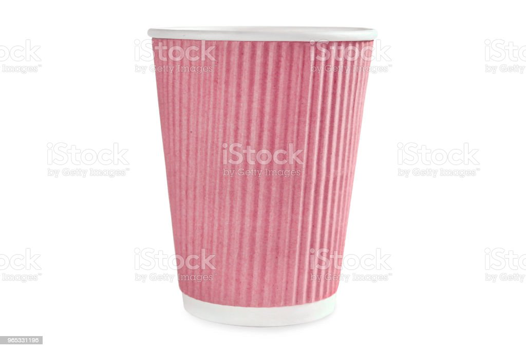 Coffee red cup zbiór zdjęć royalty-free
