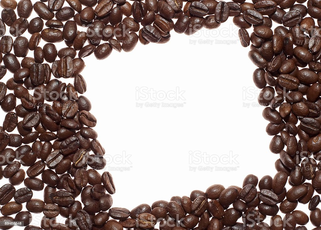 coffee rhombus royalty-free stock photo
