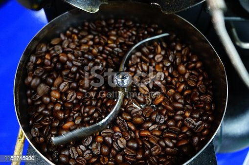 Coffee - Drink, Drink, Roasted Coffee Bean, Thailand, Bean