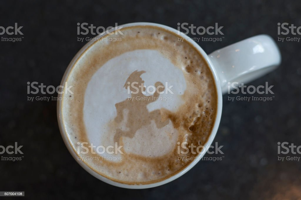 coffee runner stock photo