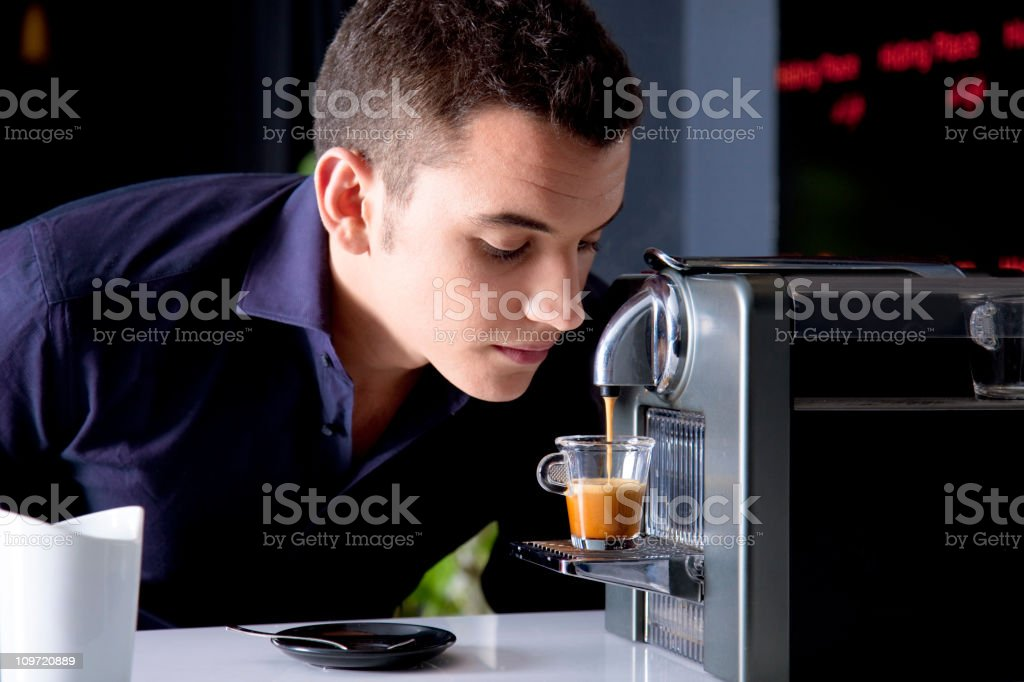 Coffee scent royalty-free stock photo