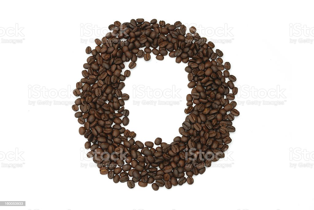 coffee seed royalty-free stock photo