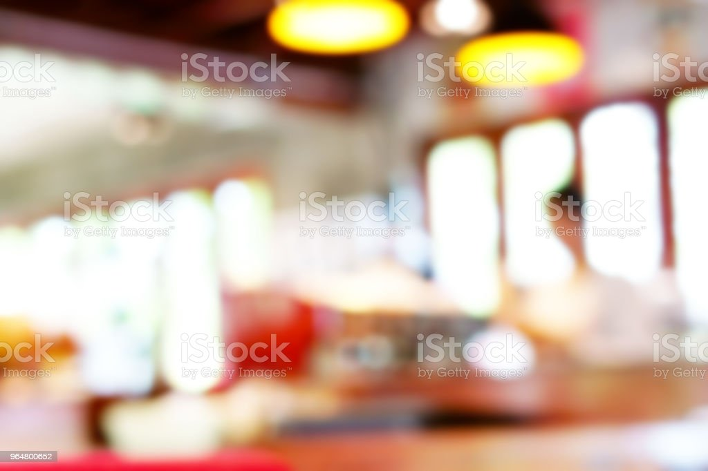 Coffee shop blur background. royalty-free stock photo