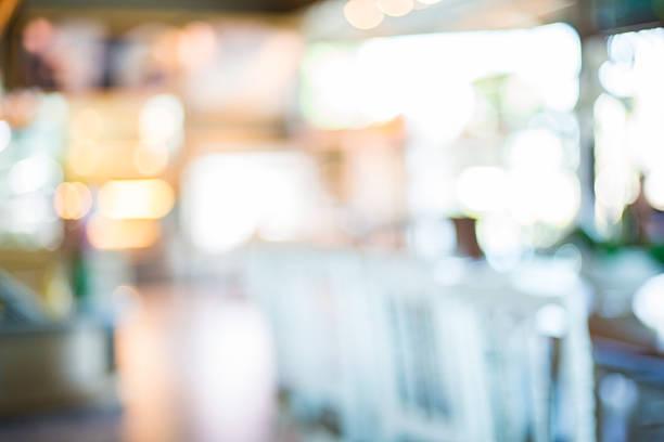 Coffee shop blur stock photo