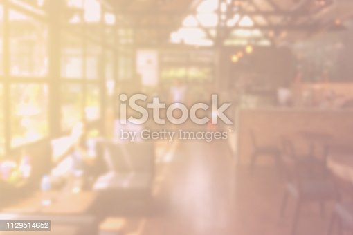 coffee shop blurry background