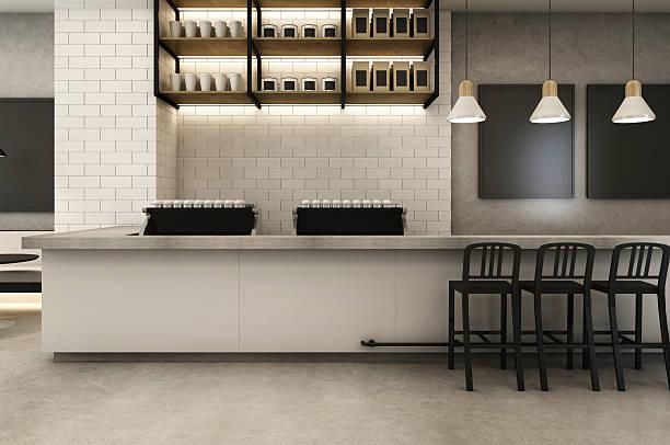 coffee shop loft & modern - kaffee shop stock-fotos und bilder