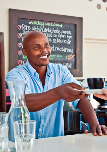 Coffee Shop Owner Stock Photo - Download Image Now