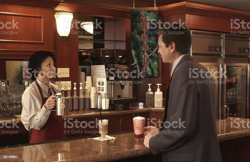 coffee shop royalty-free stock photo