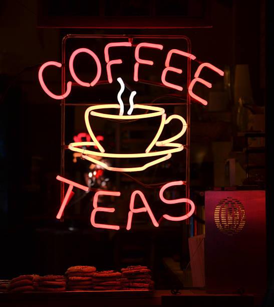 Coffee Sign stock photo