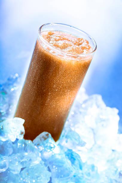 smoothie de café no gelo - foto de acervo