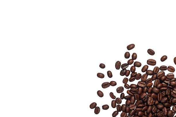 coffee space - coffee beans stock photos and pictures