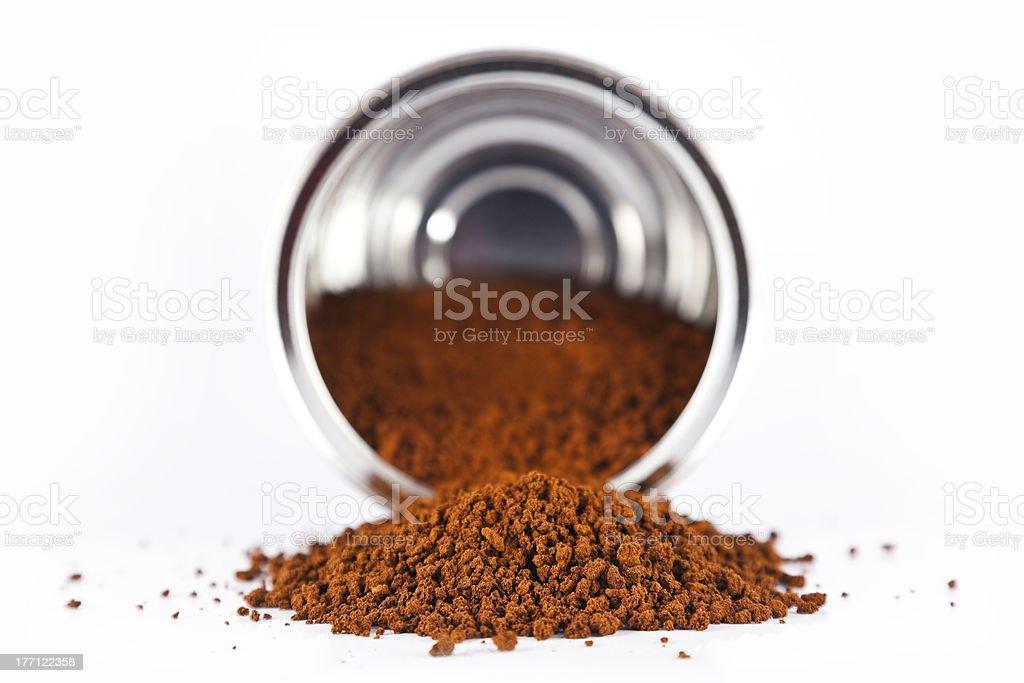 Kaffee spilled vom können – Foto