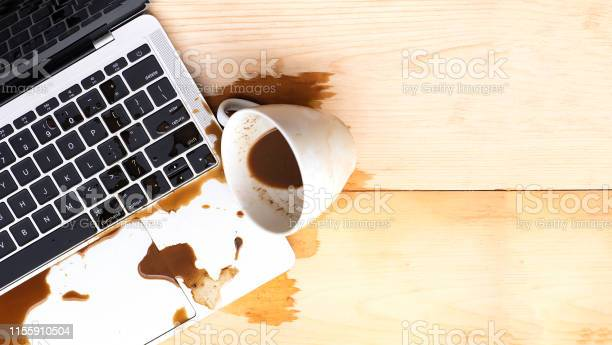 Coffee spilled into a computer notebook picture id1155910504?b=1&k=6&m=1155910504&s=612x612&h=xsvtqxxu5ggvd7tr7r4u62jhctnwvduxsolf xplmeg=