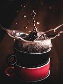 istock Coffee splash 1338037251