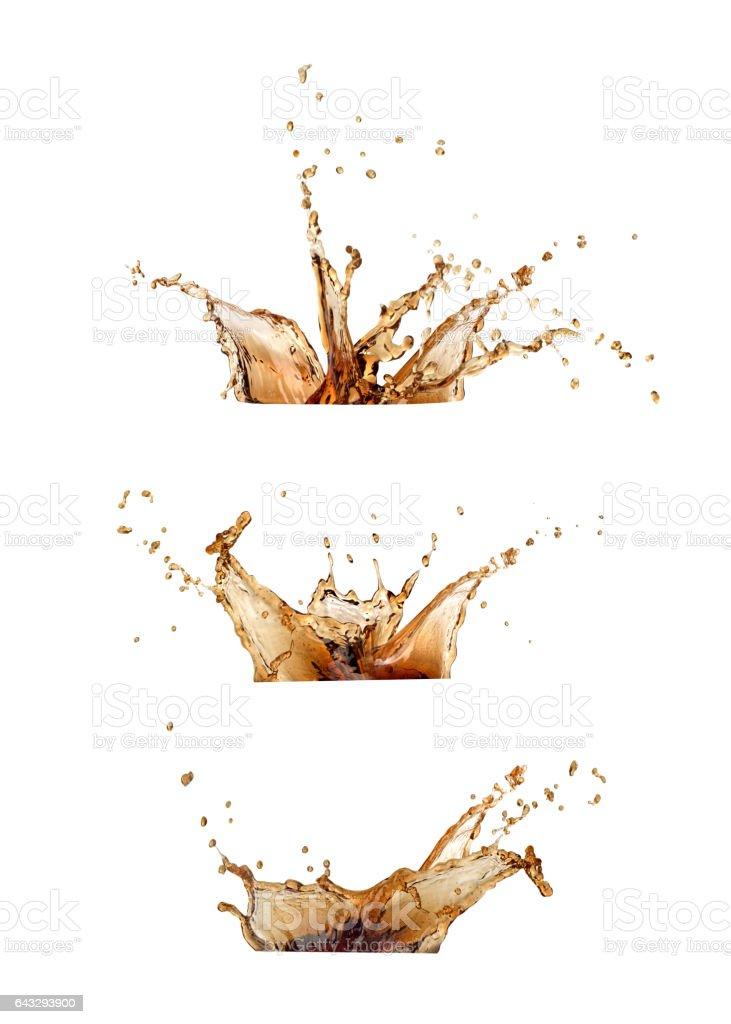 Café splash - foto de acervo