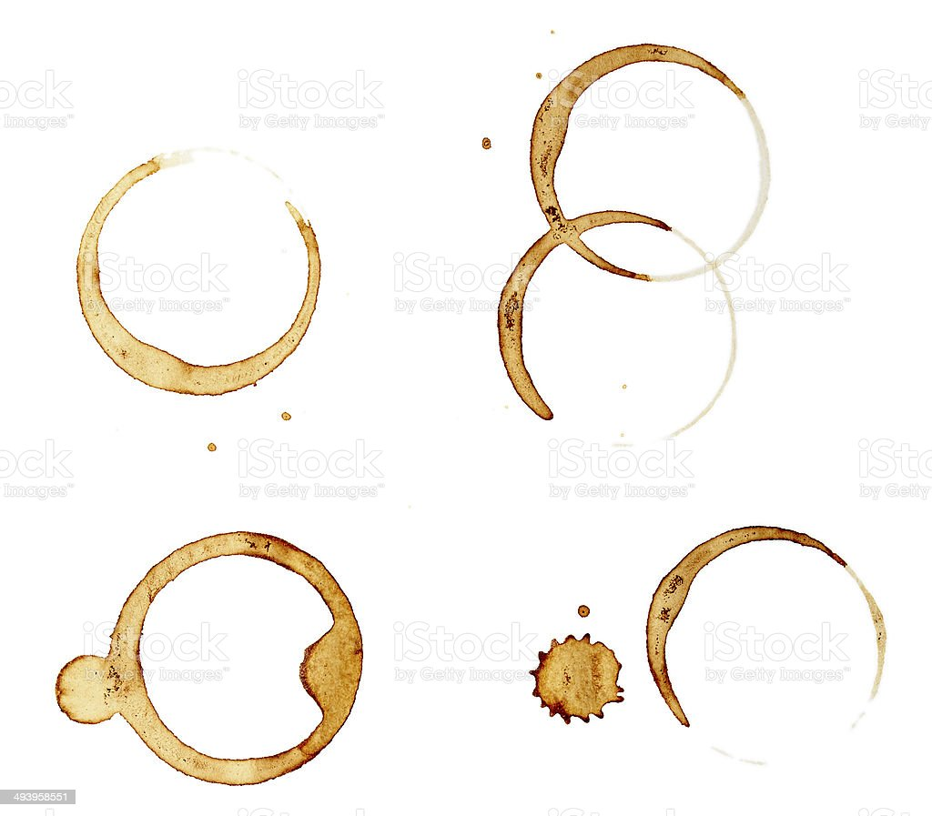 coffee stains group food beverage drink royalty-free stock photo