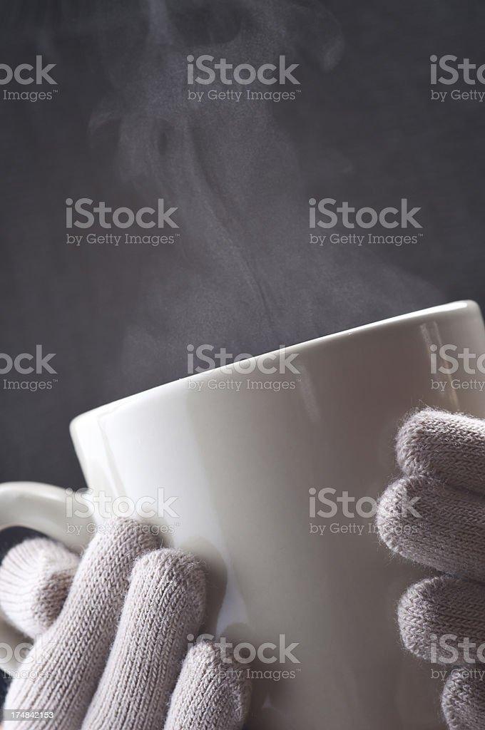 Coffee Steam royalty-free stock photo