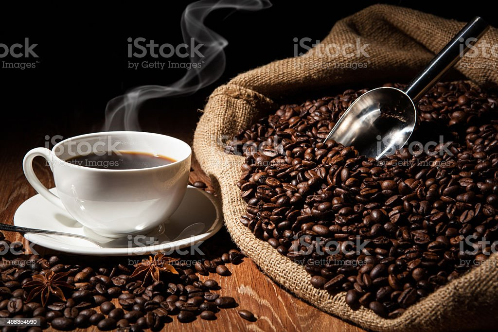 coffee still life royalty-free stock photo